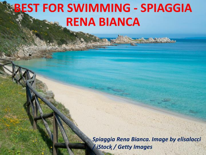 Best for swimming - Spiaggia Rena Bianca