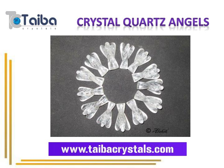 Crystal Quartz Angels