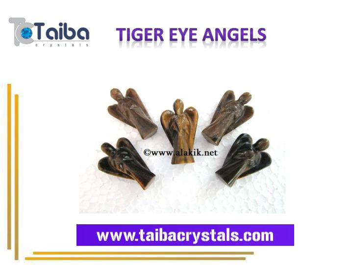Tiger Eye Angels