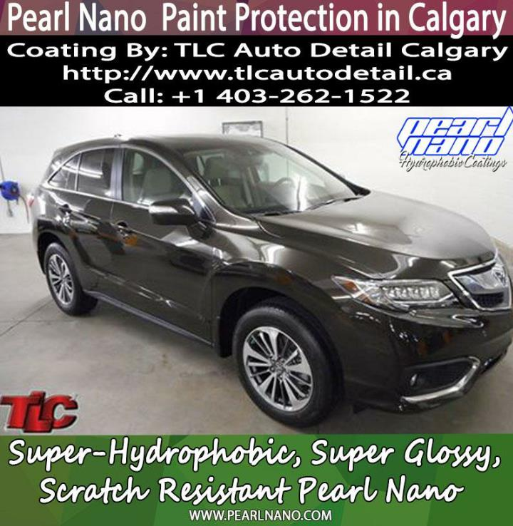 Pearl nano ceramic coatings in canada tlc auto detail calgary