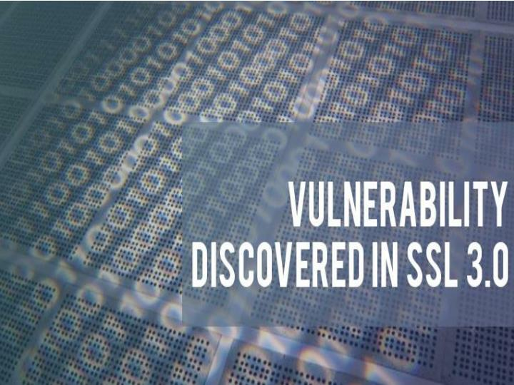 Vulnerability discovered in ssl 3 0