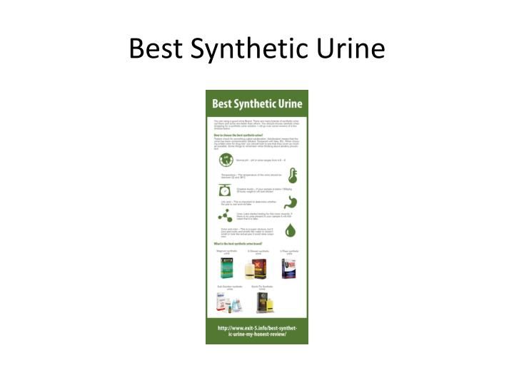 Best synthetic urine1