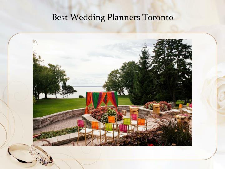 Best Wedding Planners Toronto