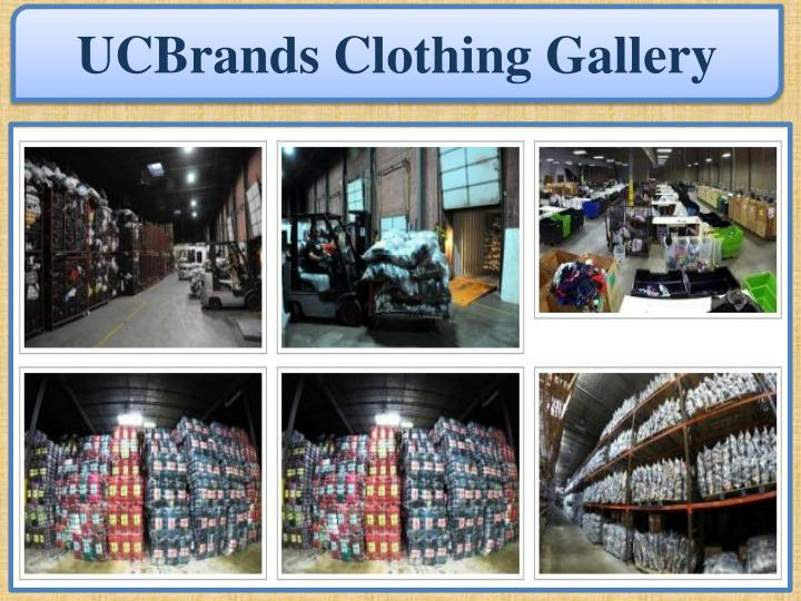 UCBrands Clothing Gallery