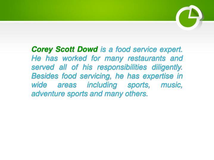 Corey Scott Dowd