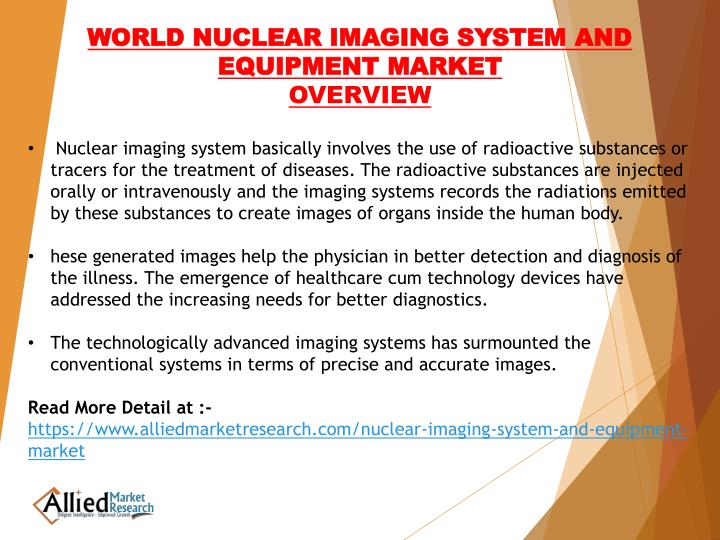 WORLD NUCLEAR IMAGING SYSTEM AND EQUIPMENT