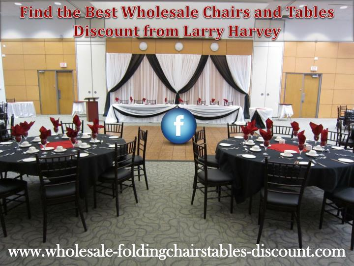 Find the Best Wholesale Chairs and Tables
