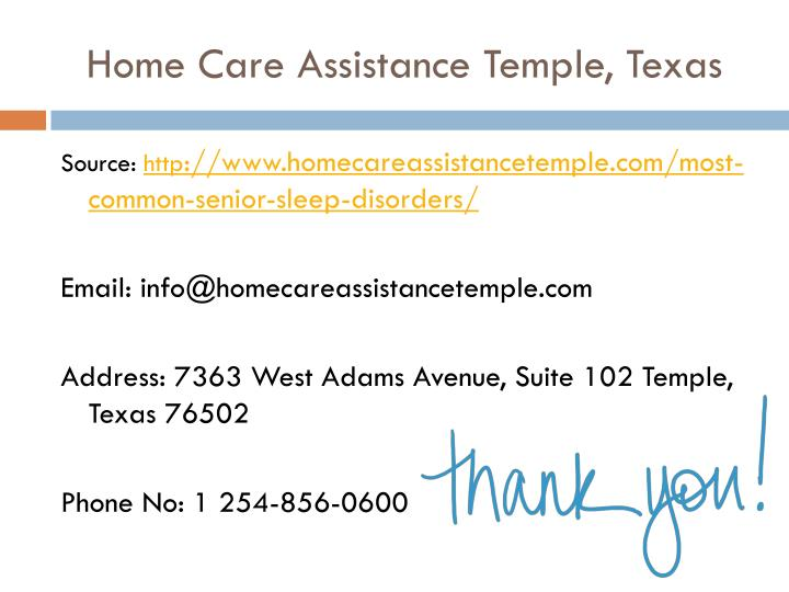 Home Care Assistance Temple, Texas