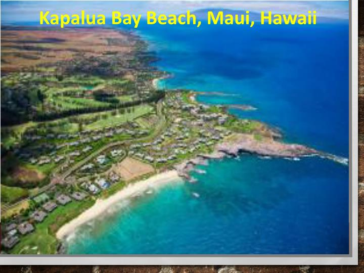 Kapalua Bay Beach, Maui, Hawaii