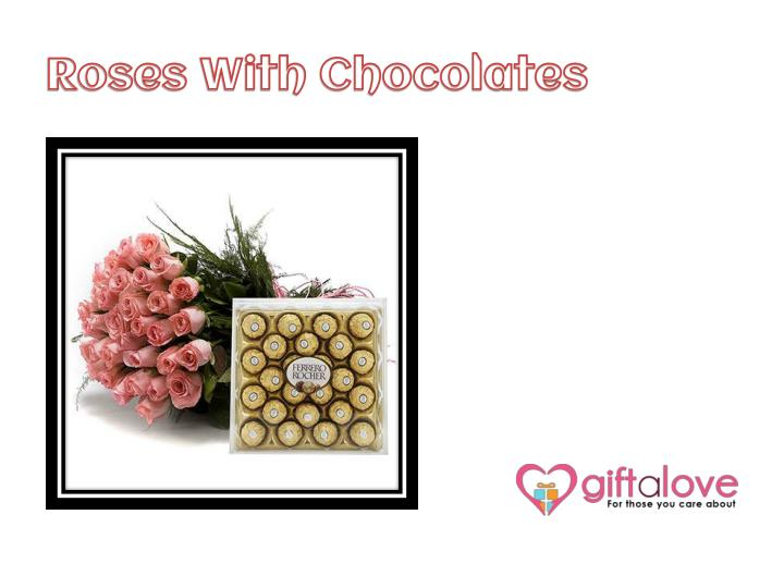 Roses With Chocolates