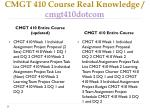 cmgt 410 course real knowledge cmgt410dotcom1
