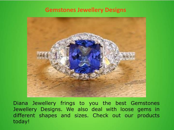 Gemstones Jewellery Designs