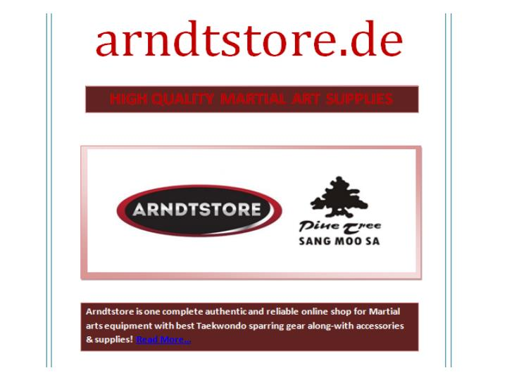 High quality martial art supplies arndtstore de