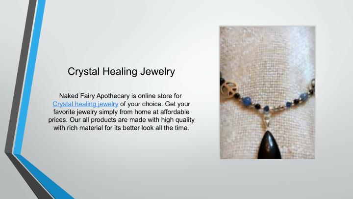 Crystal Healing Jewelry