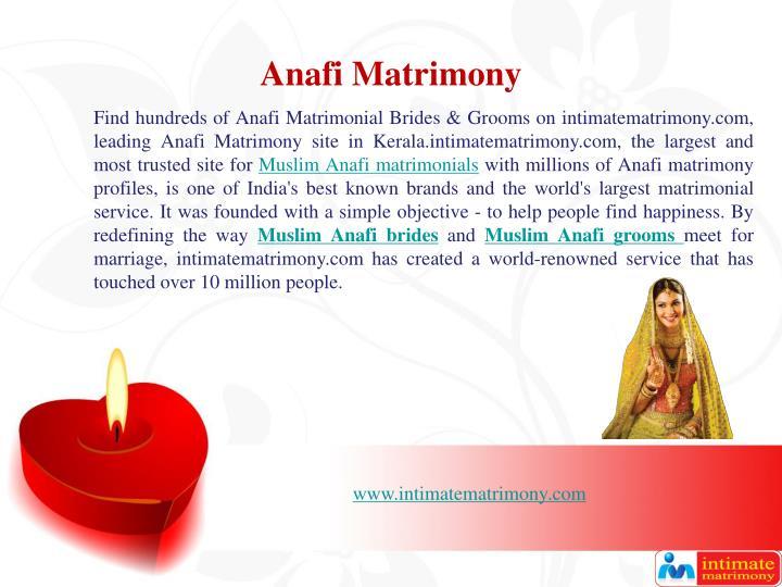 Anafi Matrimony