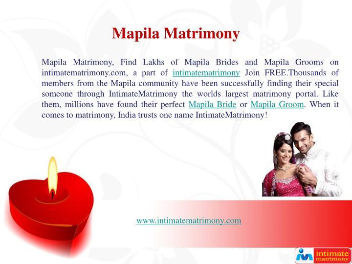 Mapila Matrimony