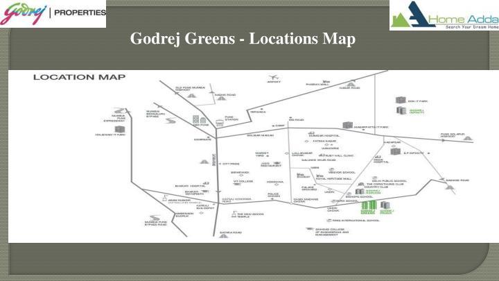 Godrej Greens - Locations