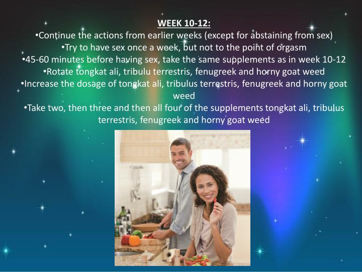 WEEK 10-12: