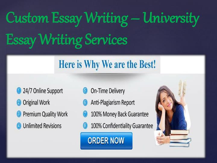 Custom Essay Writing – University Essay Writing Services
