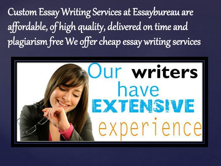 Custom Essay Writing Services at