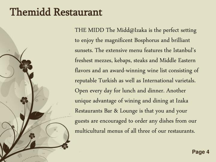 Themidd Restaurant