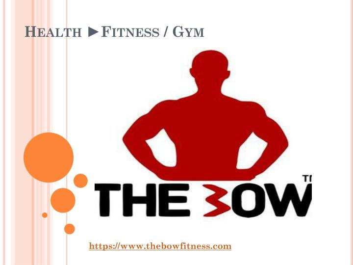 Health ►Fitness / Gym