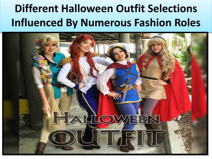 Different Halloween Outfit Selections