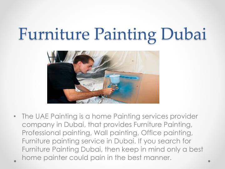 Furniture Painting Dubai