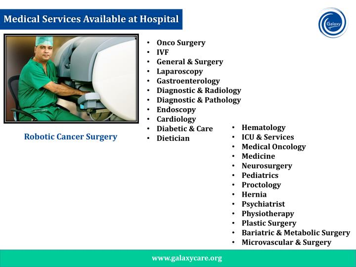 Medical Services Available at