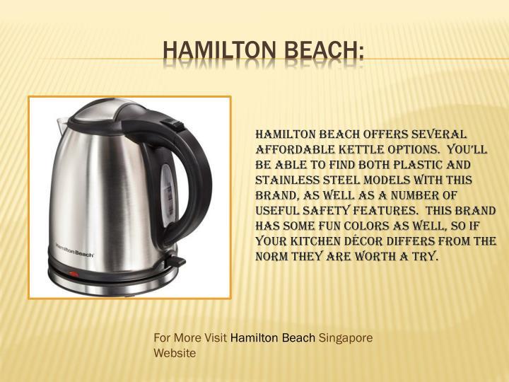 Hamilton Beach: