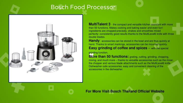Bosch Food Processor