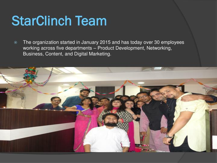 StarClinch Team