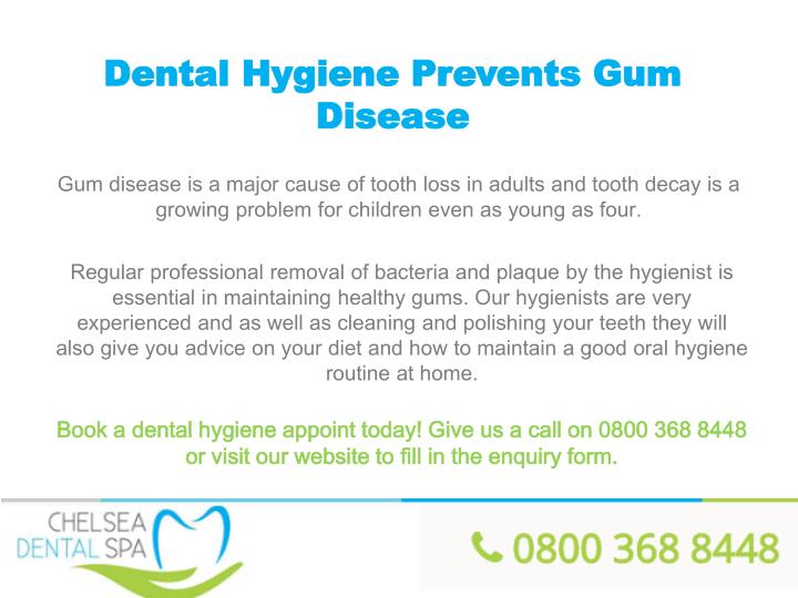Dental Hygiene Prevents Gum Disease