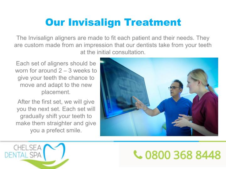 Our Invisalign Treatment