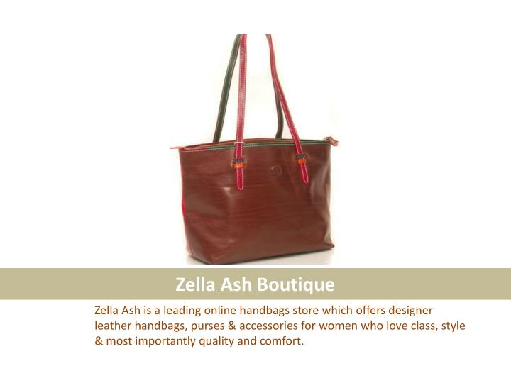 Zella ash boutique