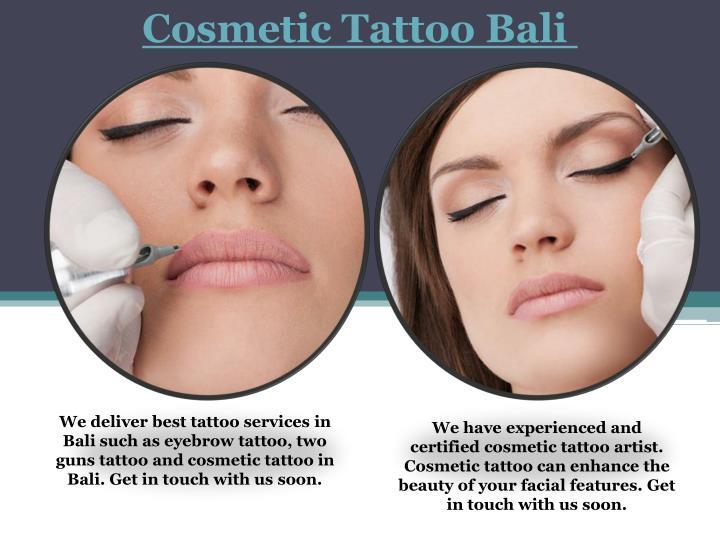 Cosmetic Tattoo Bali