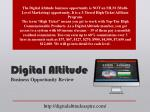 digital altitude business opportunity review