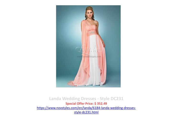 Landa Wedding Dresses - Style DC231