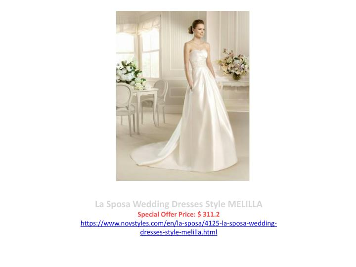 La Sposa Wedding Dresses Style MELILLA