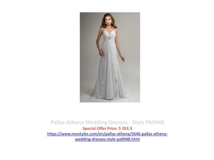 Pallas Athena Wedding Dresses - Style PA9948