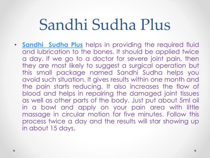 Sandhi Sudha