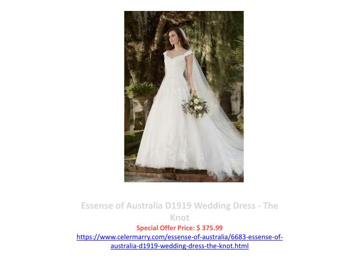 Essense of Australia D1919 Wedding Dress - The Knot