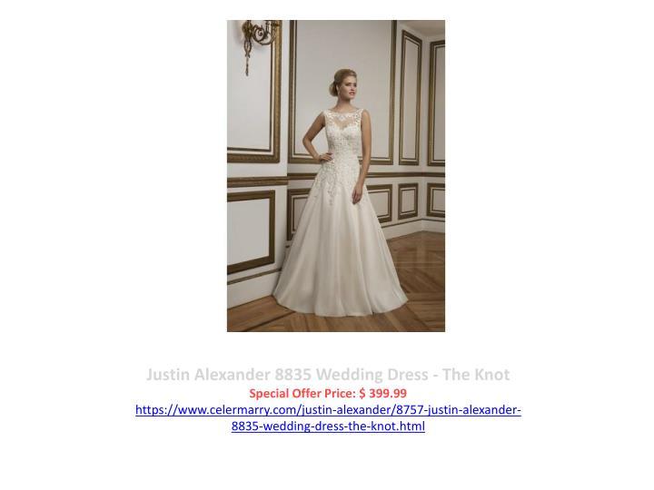 Justin Alexander 8835 Wedding Dress - The Knot