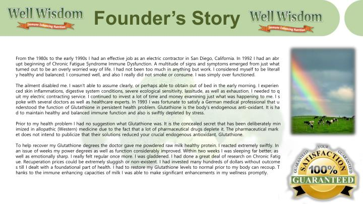 Founder s story