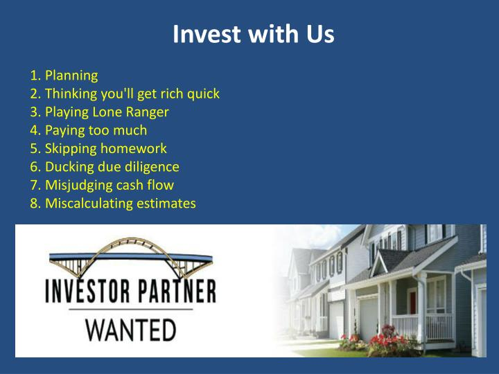 Invest with Us