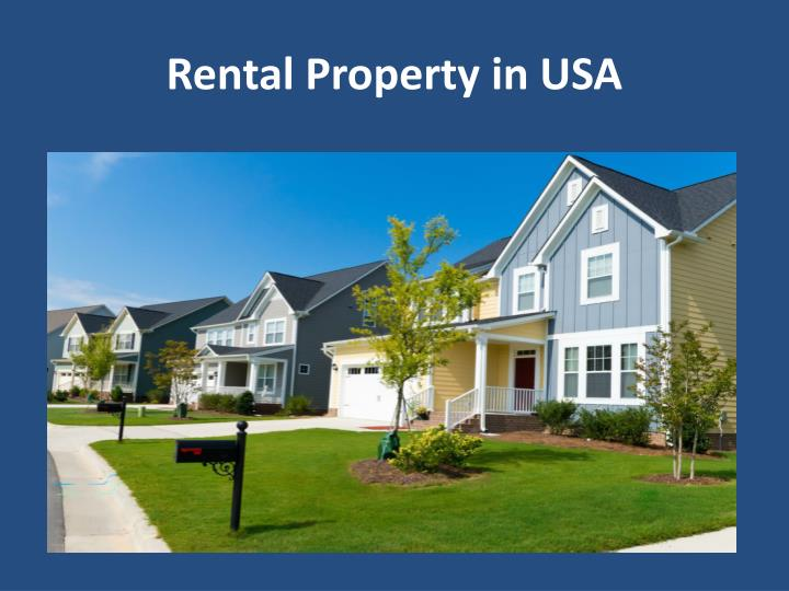 Rental Property in USA