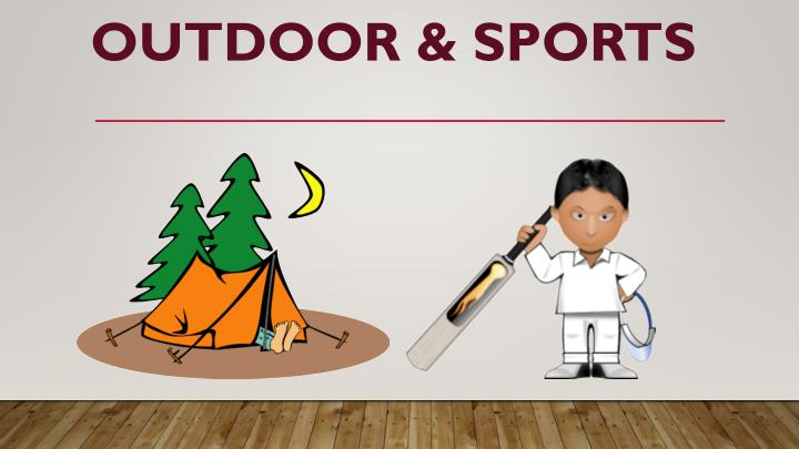 Outdoor & Sports