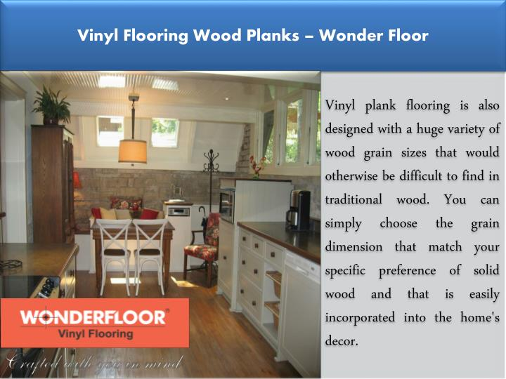 Vinyl Flooring Wood Planks – Wonder Floor
