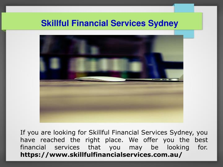 Skillful Financial Services Sydney
