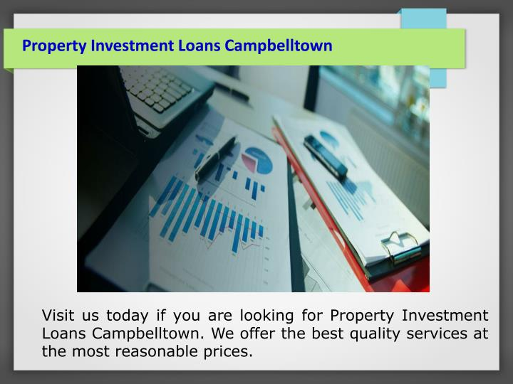 Property Investment Loans Campbelltown